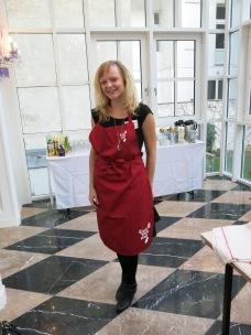 Chefbabe im Baking Atelier