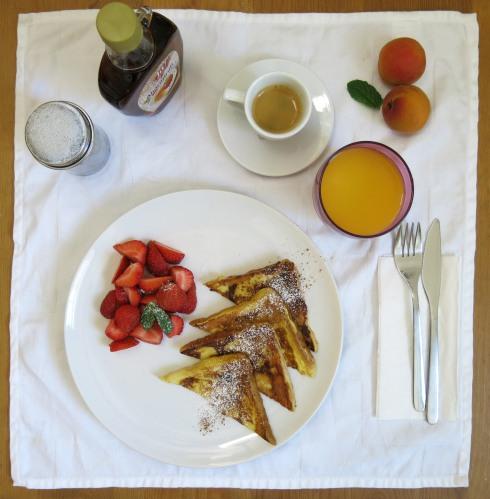 French Toast mit Erdbeeren 2