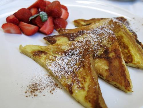 French Toast mit Erdbeeren 3