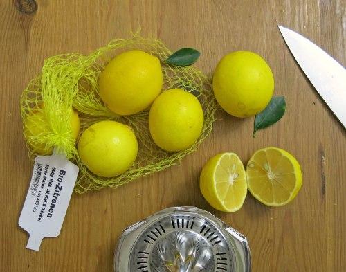 Meyer Lemon-Tarte